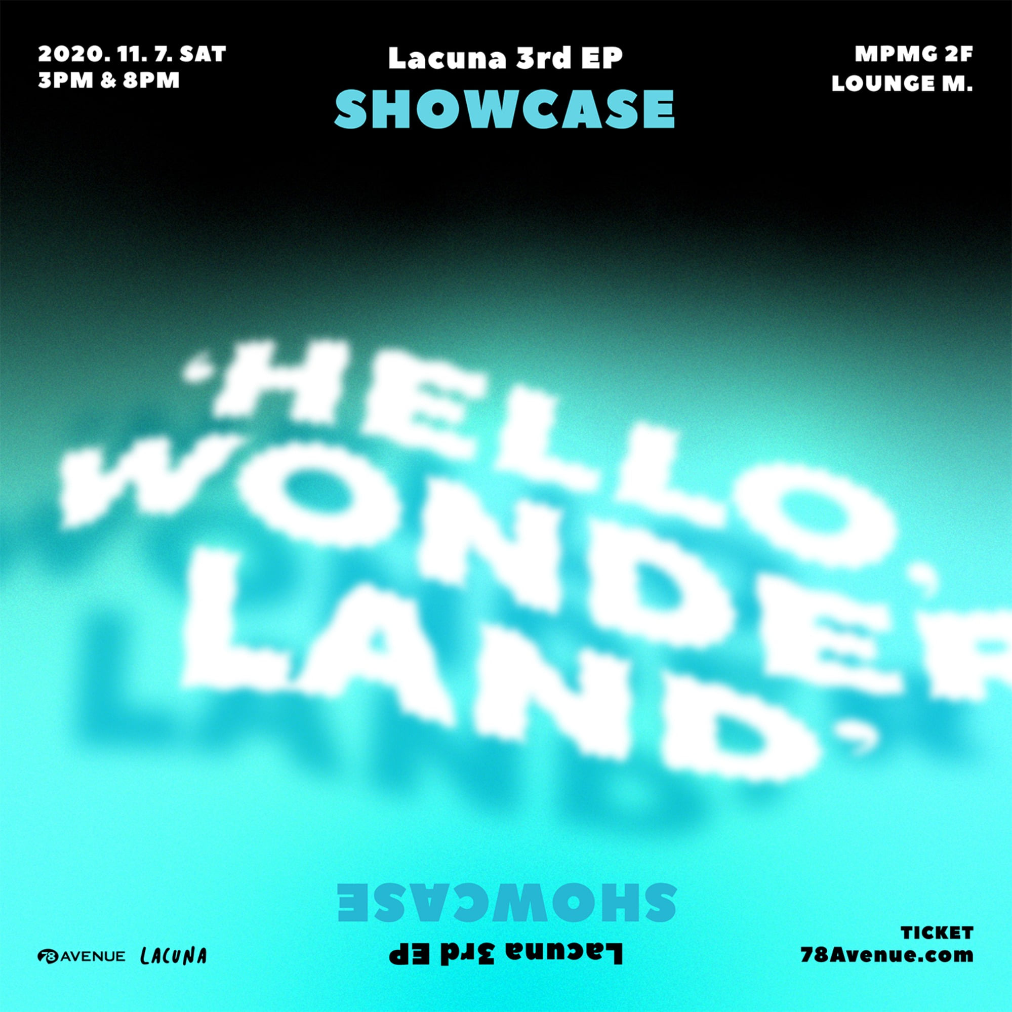 [2020.11.07] Lacuna 3rd EP 'Hello, Wonderland' Showcase - 오후 8시 공연